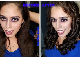 Curling my Hair with BeQool Automatic Hair Steam Curler - Review with Video
