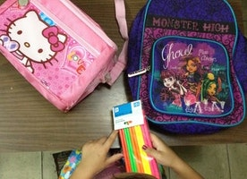 The Race for School Supplies