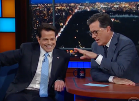 Did you all see the Colbert and Scaramucci Interview? So good.