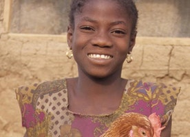 How Goats and Chickens Can Help End Child Marriage