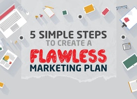 5 simple steps to create a flawless marketing plan
