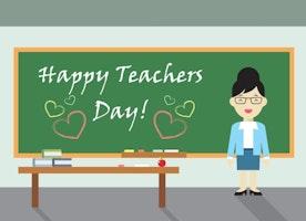Happy Teachers Day - The Day To Celebrate Birth Of Dr.Radhakrishnan