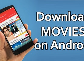 How to download a movie on Android?
