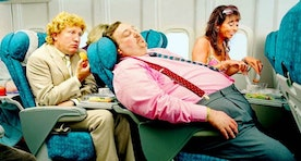 The Ten Worst People You Meet On An Airplane