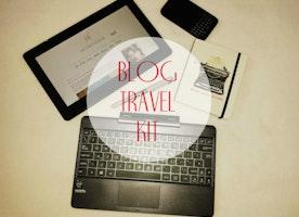 The Blog Travel Kit.