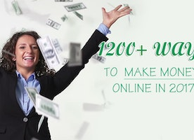 1200+ Ways to Make Money Online 2017