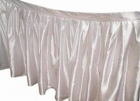 Buy Table skirt 17Ft available online at the Chaircover Depot UK