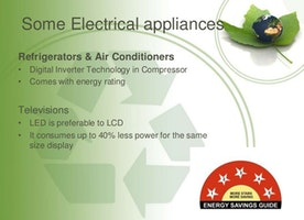 Amazing Eco Friendly Electrical Appliances for Your Modern House