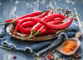 Spicy foods extend life