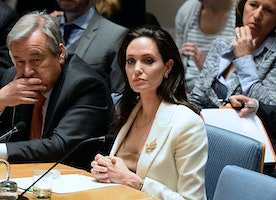 Angelina Jolie Slams UN Security Council for Syria Inaction
