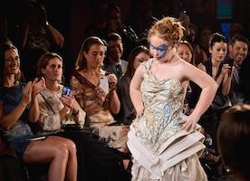 Madeline Stuart Struts Her Stuff At New York Fashion Week