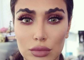 Make the Squiggle Brow Trend Stop
