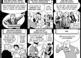 #facetherace systemic racism comic
