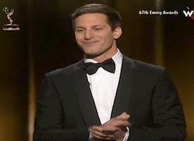 Andy Samberg Nailed his Opening Monologue at the Emmys!