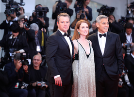 "The Film ""Suburbicon"" Premieres at The Venice International Film Festival"