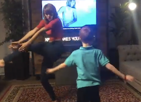 One More Reason why Taylor Swift is Amazing: She Just had a dance party with this adorbs second grader