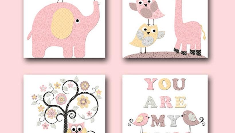 My Baby Girl S Nursery: You Are My Sunshine Giraffe Nursery Elephant Nursery Baby