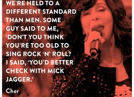This Feminist Quote by Cher is Great.