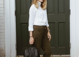Comfy Minimal Fall Outfit