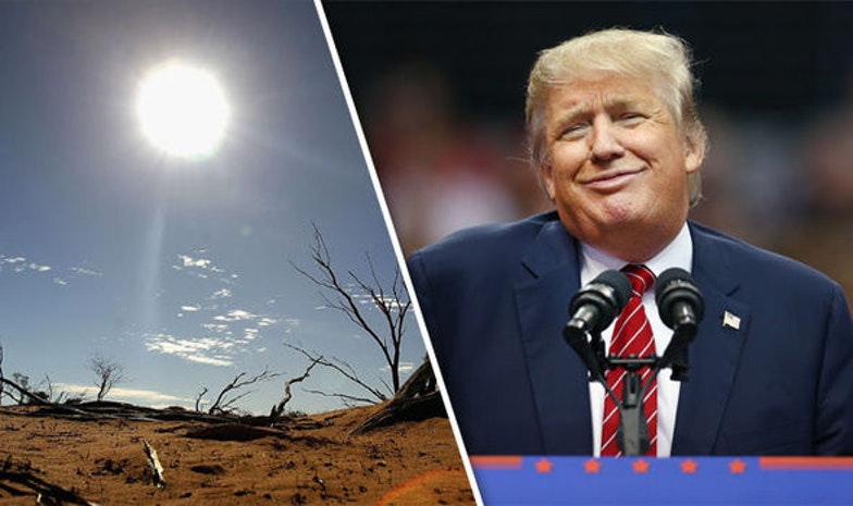 Literally Nothing Will Be Able To Convince Trump Climate Change Is Real