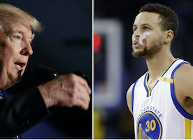 Trumps Hypocrisy with Pro-Athletes