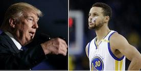 Trumps Hypocrisy with Pro-Athletes