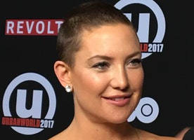 Kate Hudson Sports a New Short Haircut at the Premiere of Marshall at the Urbanworld Film Festival