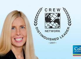 Five Commercial Real Estate Executives Named 2017 CREW Network Distinguished Leaders