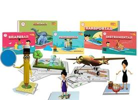 SCIFIKIDS - PACK OF 5 Augmented Reality Educational Kits (SCIFIKIDS - PACK OF 5)