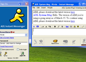 AOL Messenger Is Shutting Down. What Was Your AIM Screen Name? Best Ones Get Mogul Swag.