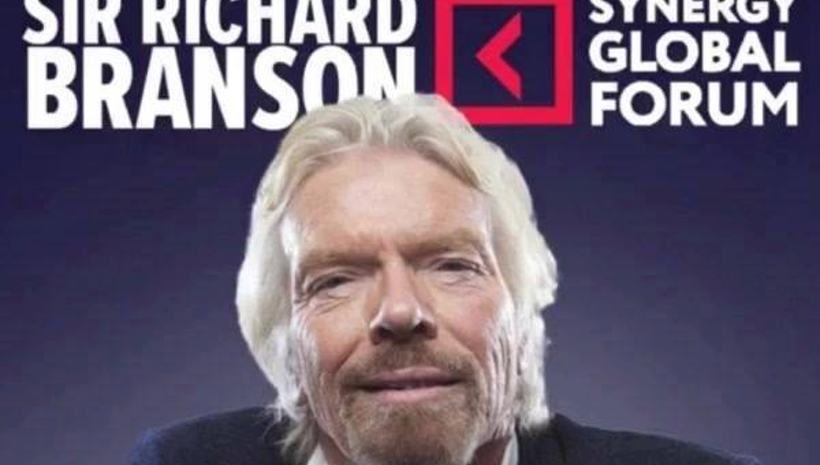 Synergy Global Forum Announces Sir Richard Branson as Featured Speaker for 2017 New York City Global Conference