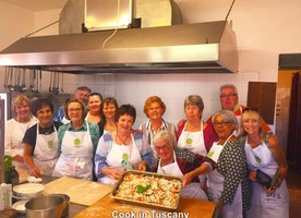Cooking in Montefollonico