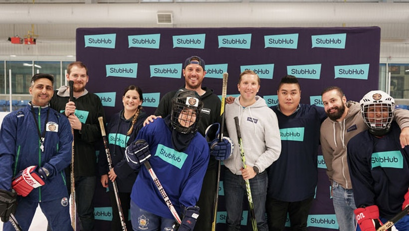 StubHub Partners with Hockey 4 Youth in Canada to Increase Youth's Access to Hockey