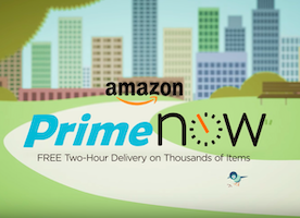 [Watch] Introducing Amazon Prime Now