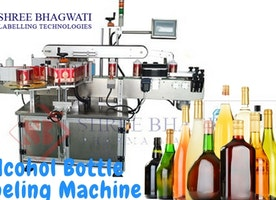 Alcohol Bottle Labeling Machine from Shree Bhagwati Labelling Technologies