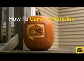 Carving The Perfect Pumpkin