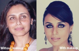 Fairly Shocking Pictures of Celebrities Without Makeup