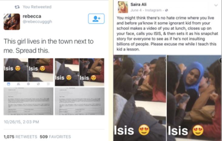 Muslim Student Called