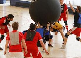 Kin-Ball, the integrative sport