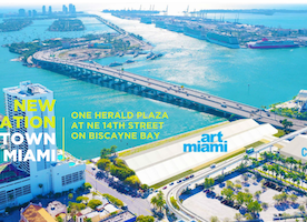 Art Miami's New Location on Biscayne Bay