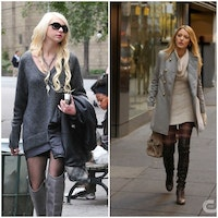 12 Stylish Ways to Wear Sweater Dress with Boots