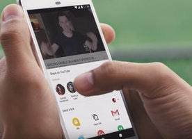 Say hello to the new YouTube in-app messaging and sharing feature