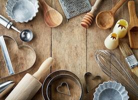 Kitchen Utensils and Materials for Kitchenware