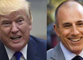 Donald Trump Celebrates Matt Lauer Firing. Do You Agree With These Tweets?