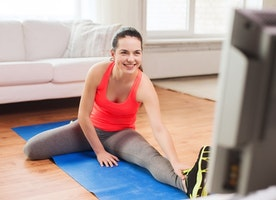 Get Fit While Watching TV - Style On The Side