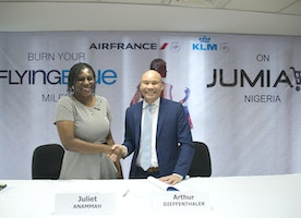 KLM Partners with Jumia, Sponsors AY show+Accidental Spy Movie and Creates Memorable Moments