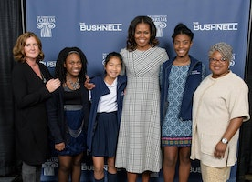 Stanley Black & Decker and Grace Academy Meet Michelle Obama!