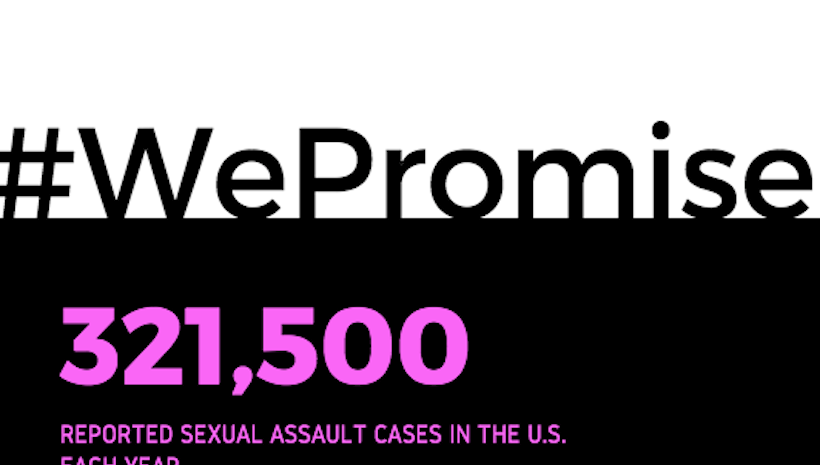 #WePromise | Raising Awareness Against Sexual Assault