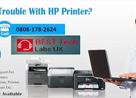 Toll Free 0808-178-2624 HP Printer Support number Uk