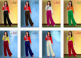 Palazzo - Buy designer palazzo online for womens in a variety of color and size | Textile & Handicraft
